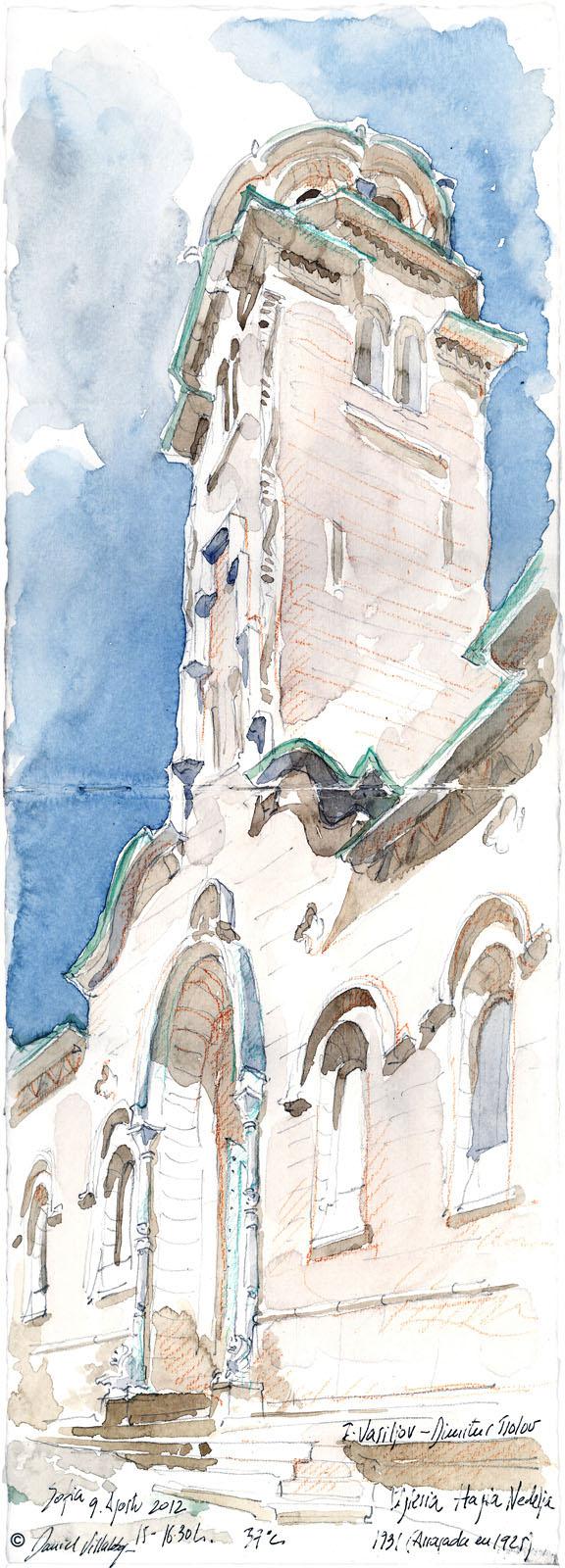 #danielvillalobos #sketch #sketchbook #skechtravel #bulgaria #sofia #hagianedelya