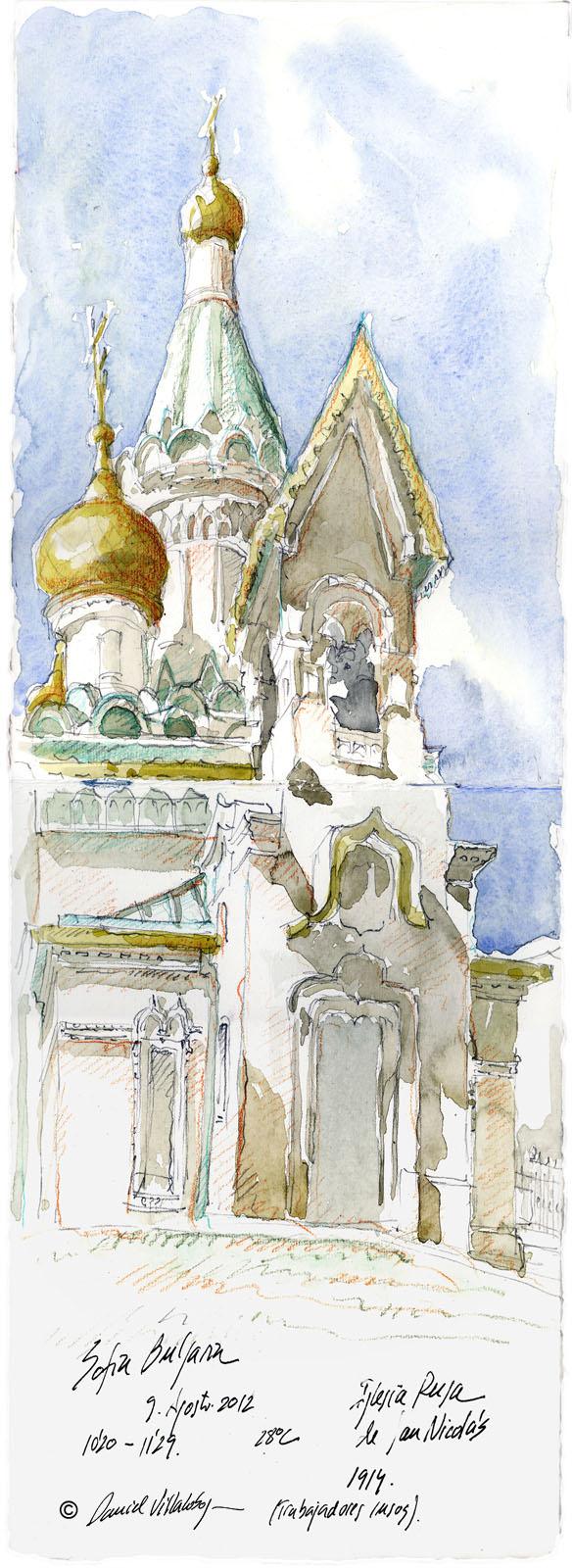 #danielvillalobos #sketch #sketchbook #skechtravel #bulgaria #sofia #s.nicolás