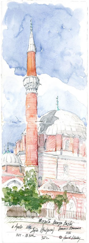 #danielvillalobos #sketch #sketchbook #skechtravel #bulgaria #sofia #banyabashi