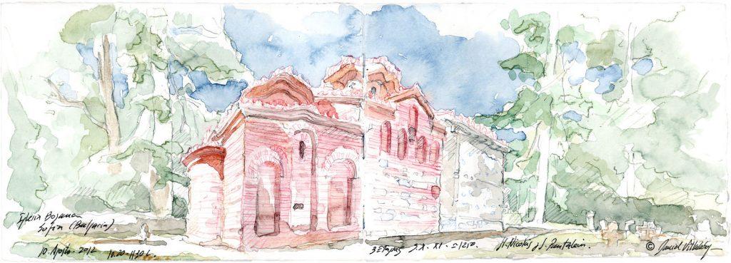 #danielvillalobos #sketch #sketchbook #skechtravel #bulgaria #sofia #boyana