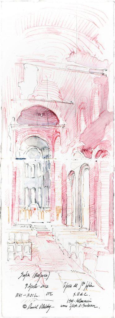 #danielvillalobos #sketch #sketchbook #skechtravel #bulgaria #sofia #sta.sofia